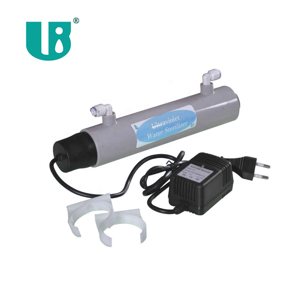 0.1T UV Sterilizer water filter for clear water 30 gal