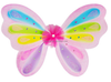 W0303 kids colorful small plastic wing natural fluttered for children