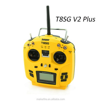 New release Jumper T8SG v2.0 Plus Radio transmitter with Hall Sensor Gimbal