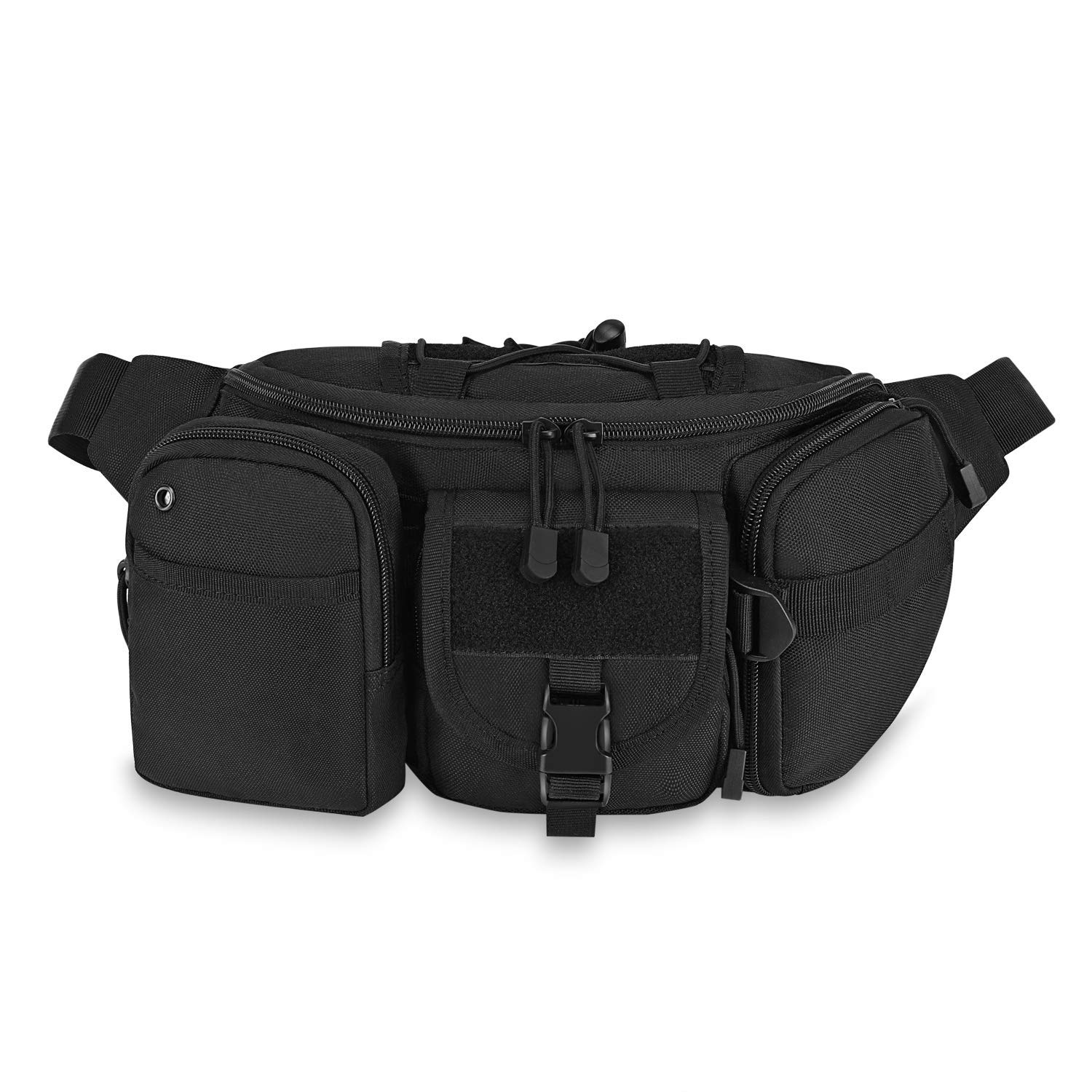 Barbarians Tactical Fanny Pack Military MOLLE Waist Pack Bag with Tactical Pouch