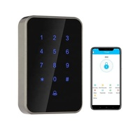 Rfid Keypad Bluetooth Door Access Control and Time Attendance Device Romotely Controlled By Smartphone APP
