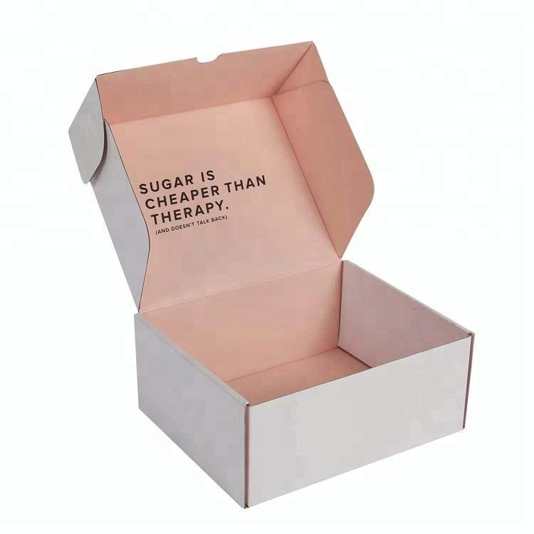 printed corrugated paper dental model boxes