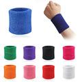 Men Women Sports Sweatband Tennis Squash Badminton Terry Cloth Wrist Sweat Bands Basketball Gym Wristband Wrist