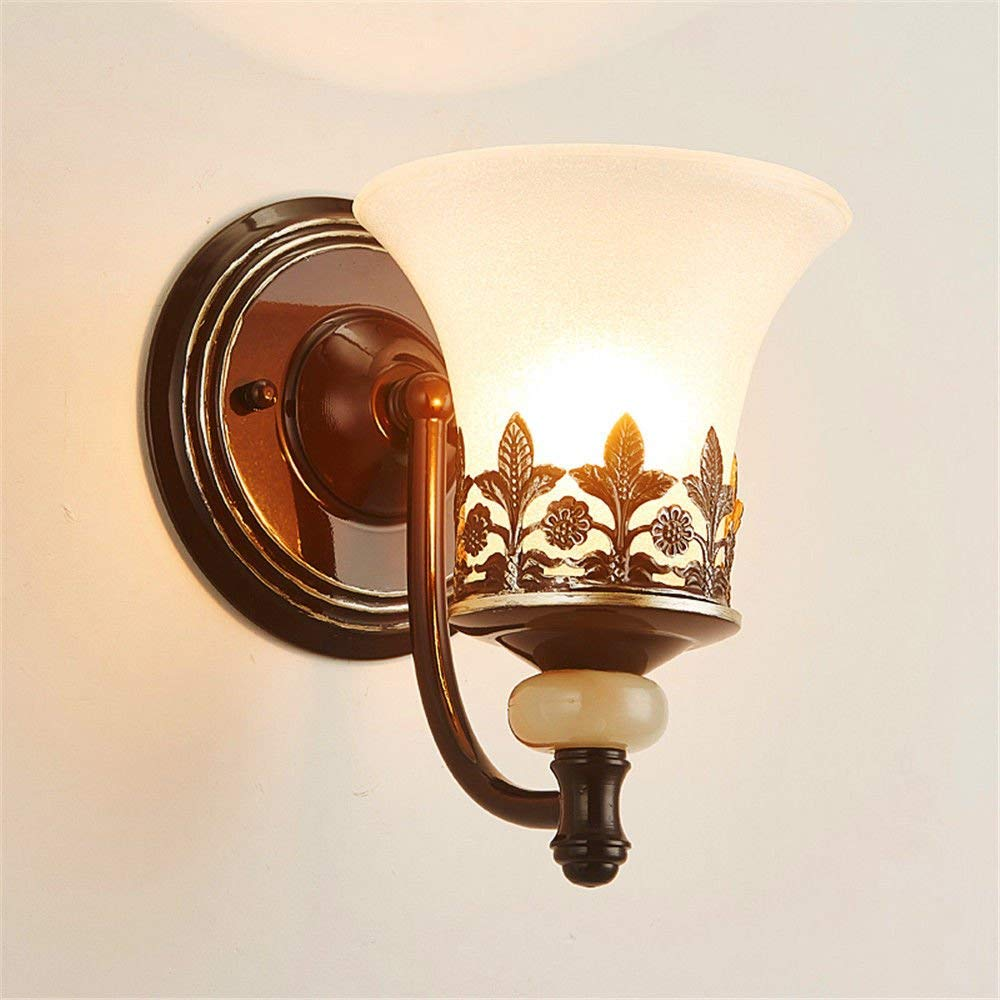 CGHYY Led Wall Mounted Bathroom Mirror Front Light Mirror Cabinet Bathroom Led Wall Lamp Waterproof Anti-Fog Bathroom Mirror Lights Iron Wall Lamps Antique Fixture