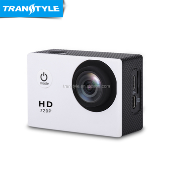 30 meter waterproofing 2.0 inch screen HD 720P 90 Degree Wide Angle Lens sports camera