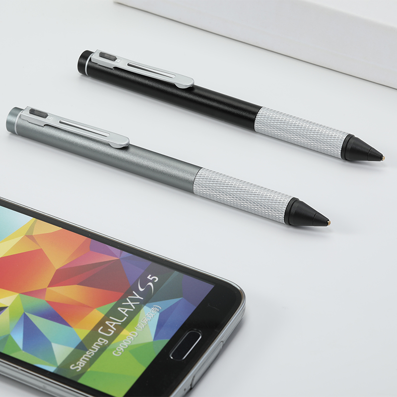 Flat Metal Touchning Screen Touch Pen Active Stylus Pen for IPad and Phone