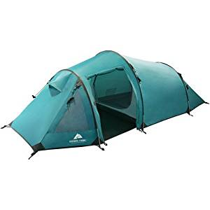 Ozark Trail 2-person Vestibule Lightweight Backpacking Tent Includes Storage Pocket, Aluminum Stakes, Fly Vents, & Guy Ropes