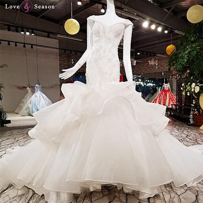 Rhinestone Wedding Dress Mermaid Wholesale, Wedding Dress Suppliers ...