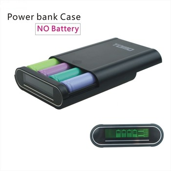 Tomo Power Bank Case 4*18650 Slot - Buy Tomo V8 T4 Power Bank Case,4 *  18650 Battery Diy Phone Charger Case,Diy Power Bank Case For Iphone And  Android