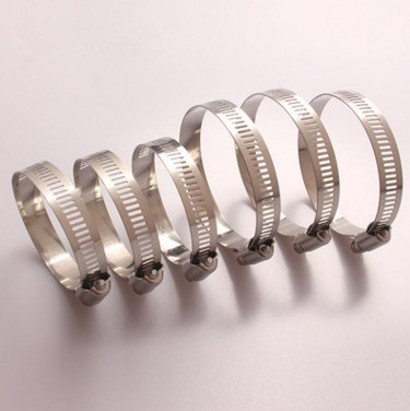 WX WS Hose Clamp Hose Clips Stainless Steel Wholesale Hose Clamp Pipe Clamps