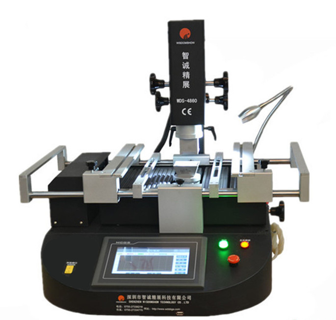 Hot air soldering machine WDS-4860 cheap welding machine with laser point for xbox 360 motherboard repair