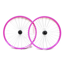 Bicycle wheel set fixie bike parts high quality spoke wheels disc 700c light weight rim