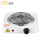 Single Burner Spiral 1000W Electric Hot Plate For Cooker