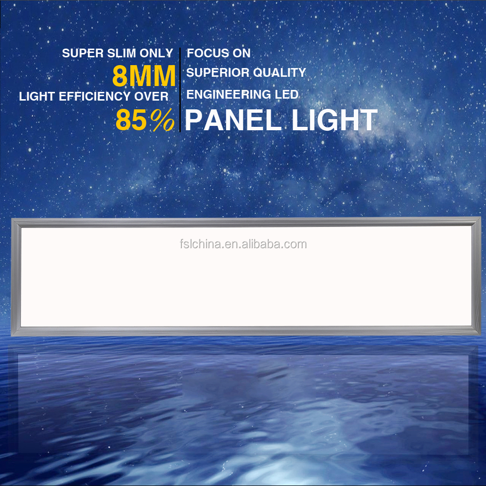48W 300X1200 square led panel light, embeded suspended ceilling led panel light