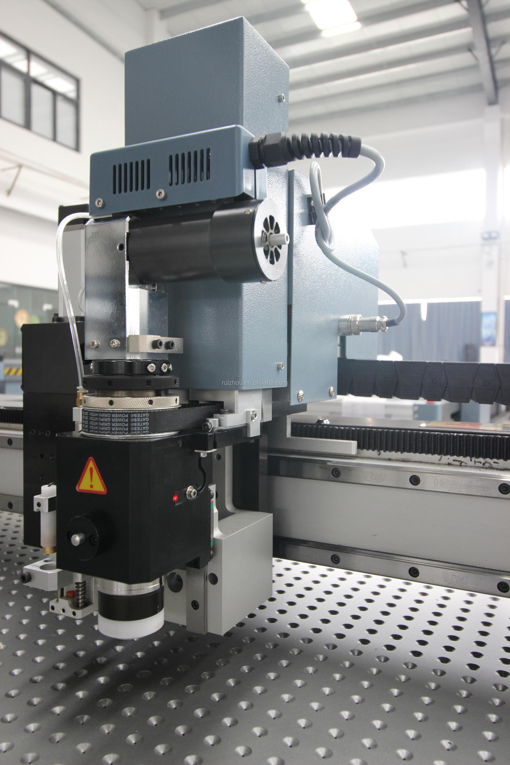 Intelligent cnc oscillating blade cutting machine for automobile industry
