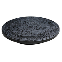 EN124 round 700mm Heavy duty cast iron manhole cover and frame