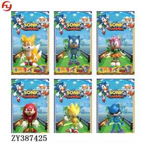 4inches sonic single toys plastic anime action figure toys
