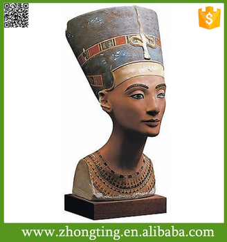 Fashion Modern Home Decor Egyptian Queen Nefertiti Bust Reproduction  Sculpture - Buy Reproduction Sculpture,Female Bust Sculpture,Greek Bust  Sculpture