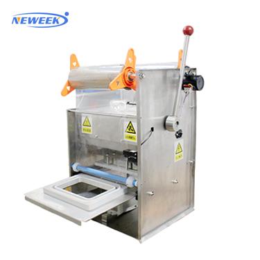 NEWEEK plastic cup sealing machine in ghana