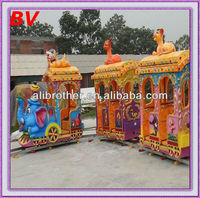 Popular export electrical games, children rides playground mini train