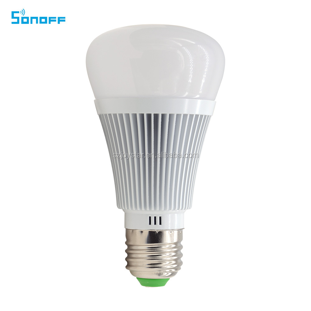 Sonoff B1 Led Bulb Wifi Light Switch Led Color Changing Light Bulb Works With Alexa is hot selling on the market