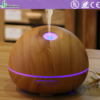 High Safety industrial scent rainbow essential oil aeration led light diffuser humidifier