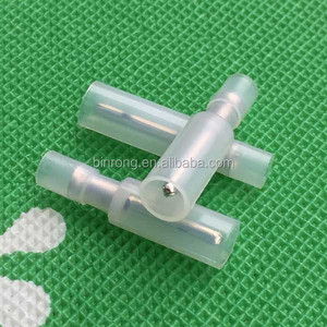 22-18AWG Nylon Clear Butt Connector