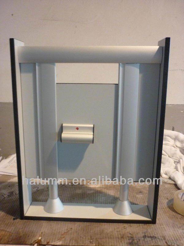 Toilet partition installation samples with patent for sale