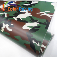 Factory directly sell digital camouflage car wrap film with air bubble free channel
