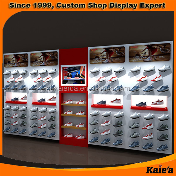 Sports Shoes Display Rack In China