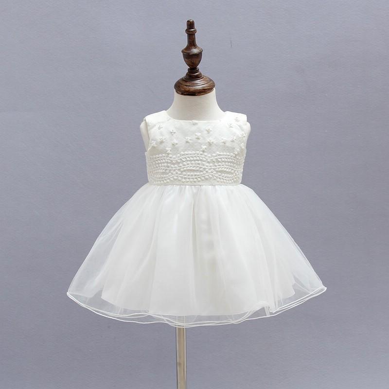 130f8ea4f0e8e New Mini children boutique clothing designer Newborn Communion Dresses Gown  Tulle Angel birthday party dress 1