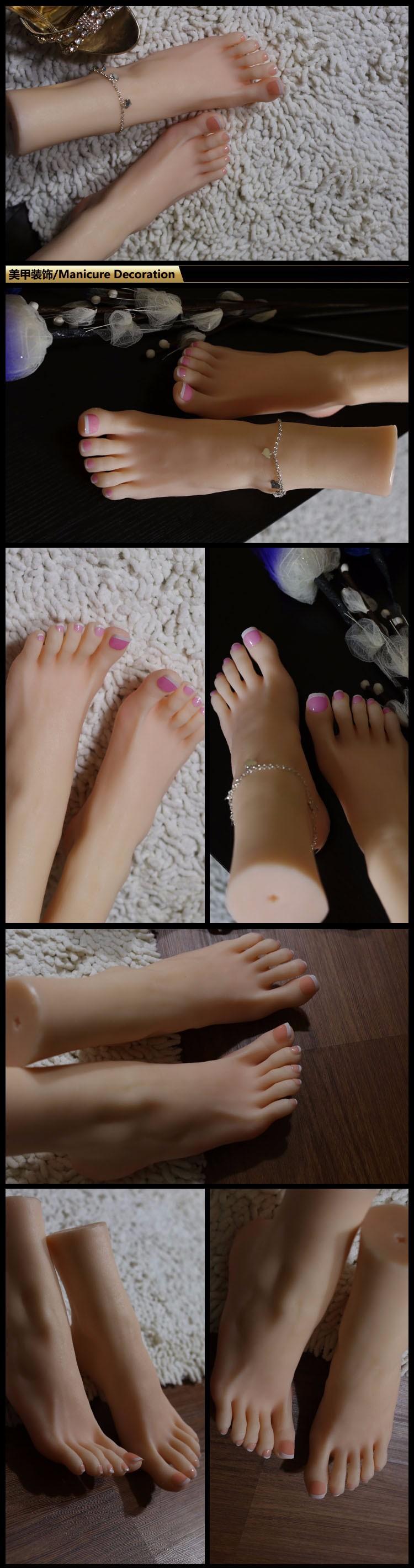 Abspritzdusche für schöne Füße von erstklassigen europäischen Babes