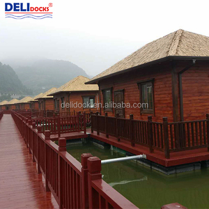 Mobile Home floating prefabricated wooden movable house