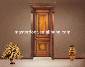 New Style Solid Wooden Flush Door In Foshan Solid Wood Door