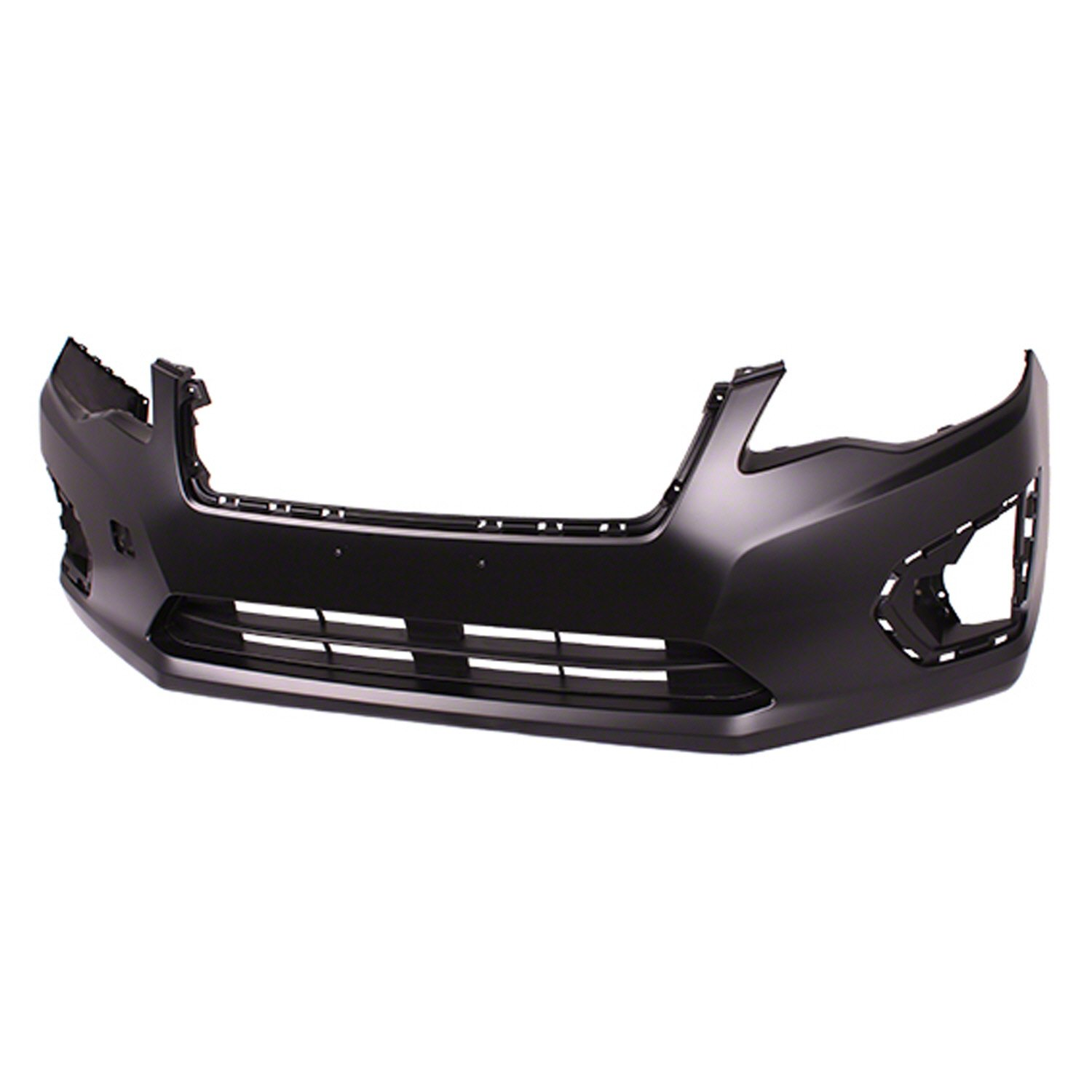 Crash Parts Plus Red Front Bumper Cover for 12-14 Subaru Impreza SU1000168