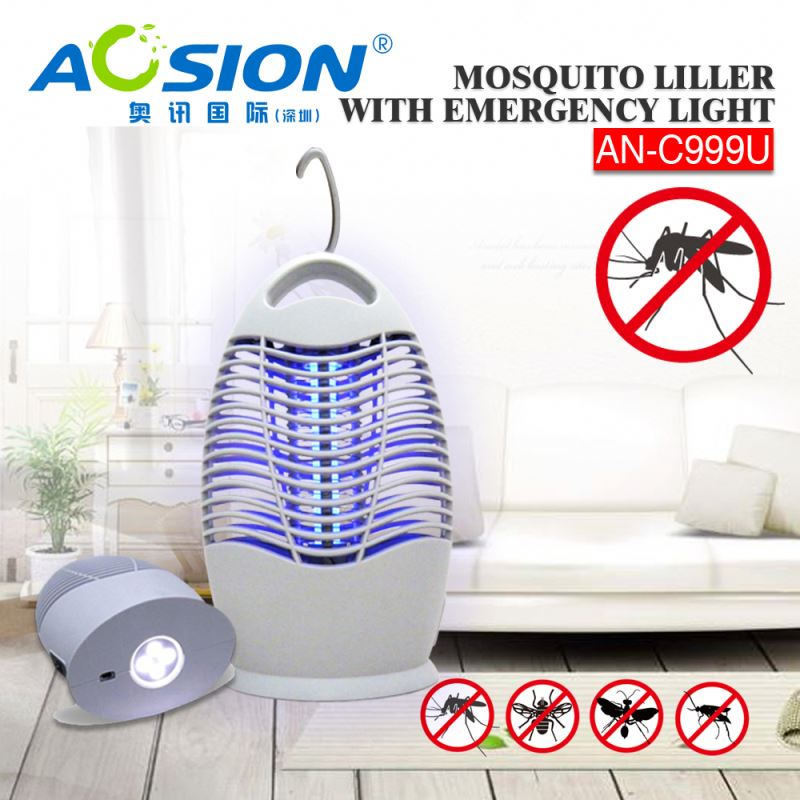 Aosion Top Rated On amazon Huge Market Good Price blue light electric mosquito trap