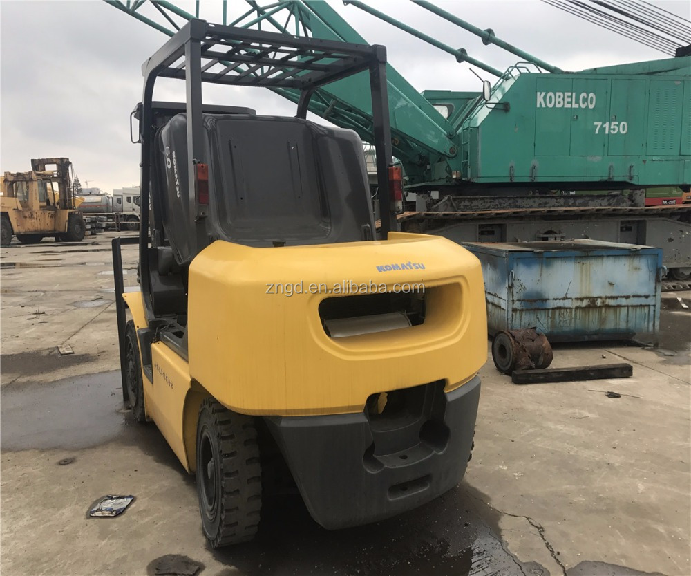 Original Japan made Komat FD50 5T forklift used condition FD50 FD80 FD100 FD150 FD200 lifter for hot sale