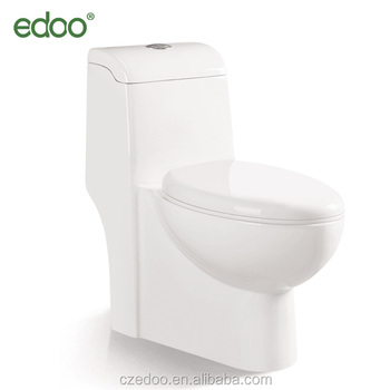 Best Selling Toilet Water Closet Sanitary Ware Siphonic One Piece Toilet  Bathroom Accessories Water Closet Toilet