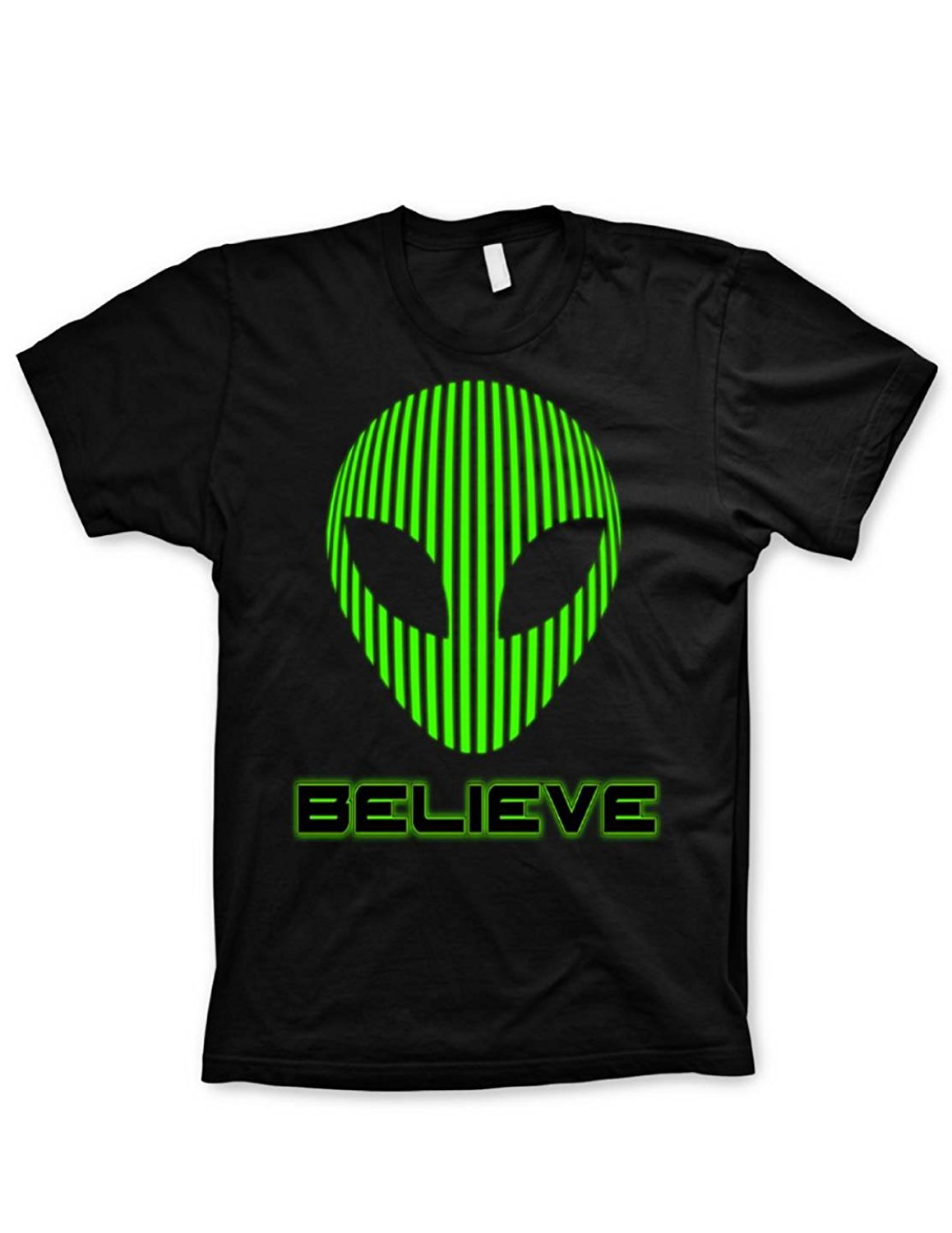 Alien Tshirt believe shirt funny tshirts science geeky nerd video game shirt