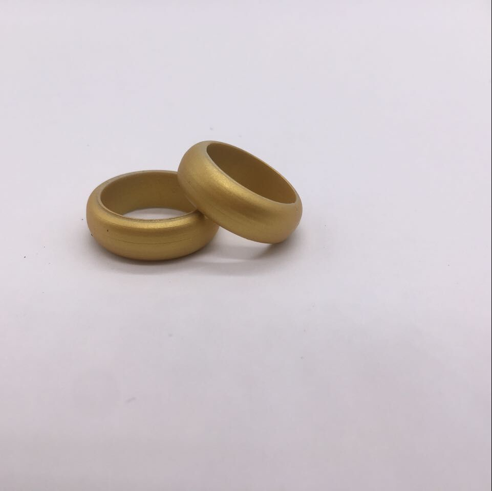 Soft any size and color cheap lover ring plastic silicone wedding ring