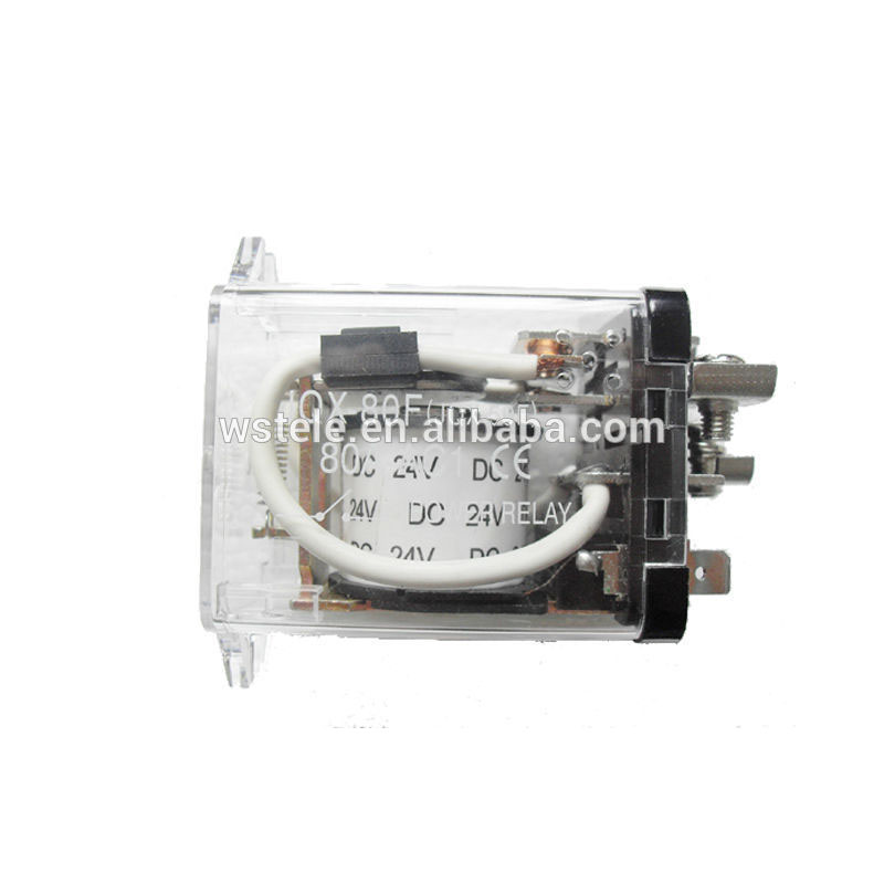 Screw JQX-59F 80A AC 220V Coil PCB Electromagnetic Relay
