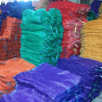 PP Purple Raschel Mesh Bag for Onions potatoes Eggplant China Manufacturer Packaging HDPE Plastic Raschel Mesh Bags for Fruits