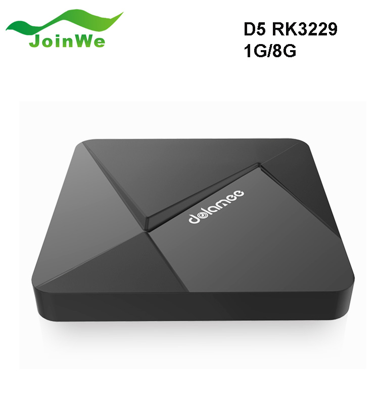 OEM DOLAMEE D5 Android TV Box RK3229 1G/8G Quad-core KD PLAYER 16.1 Miracast 4K/2K H.265 3D 2.4G WiFi OTT TV BOX