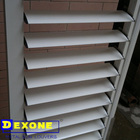 Easily clean shutter & metal air conditioner cover louver & window-shades