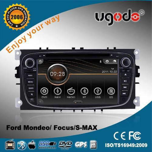 OEM CE certificate double din car radio for Ford S-MAX dvd gps navigation with blue tooth, ipod, mp3 etc