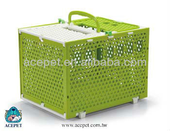 217-2A Floable open top plastic cage Ratten Pattern Carrier
