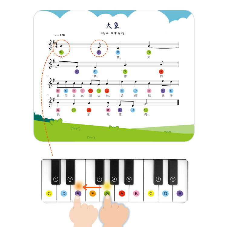educational learning toy sound book for children music sound book