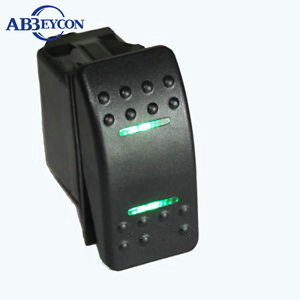 marine/boat/Car Rocker Switch custom Printed led logo waterproof ON-OFF Carling Rocker Switch