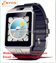 Latest model new sim watch mobile phone 512MB+4GB touch screen android smart wach with gps wifi 3g