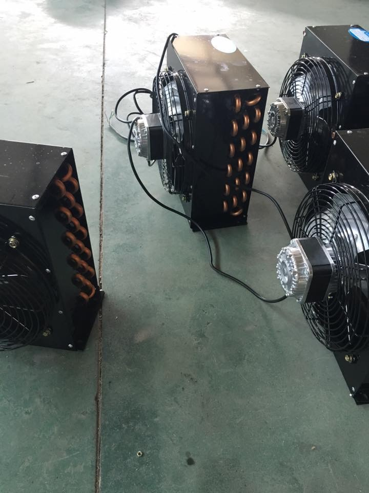Environmental high-performance function air conditioner evaporator